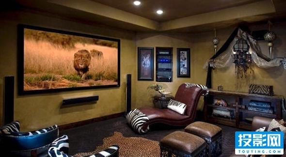 家庭影院投影幕布多大才合适?