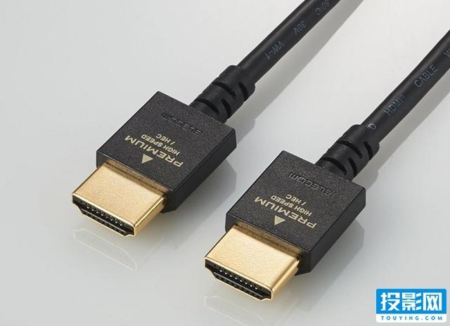 完美适用狭窄及密集的环境,日本宜丽客新推小型HDMI线