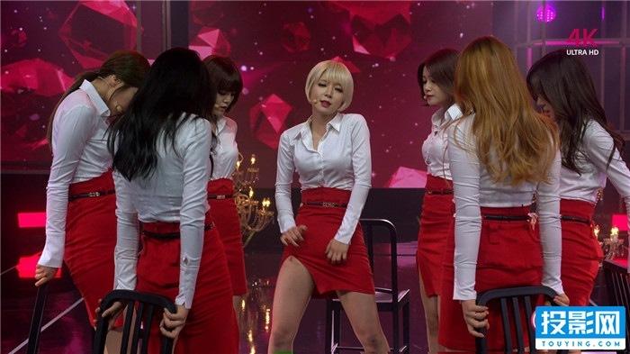红唇烈焰、惹火色彩(韩国AOA _ Miniskirt)超赞4K MV/2160p/H265