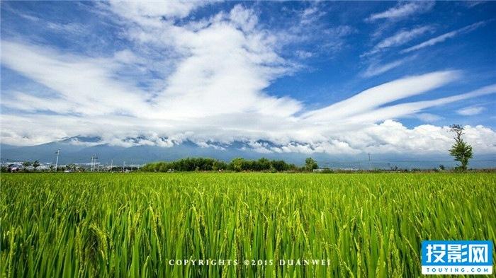 美丽的云南故乡,如梦如幻的延时摄影