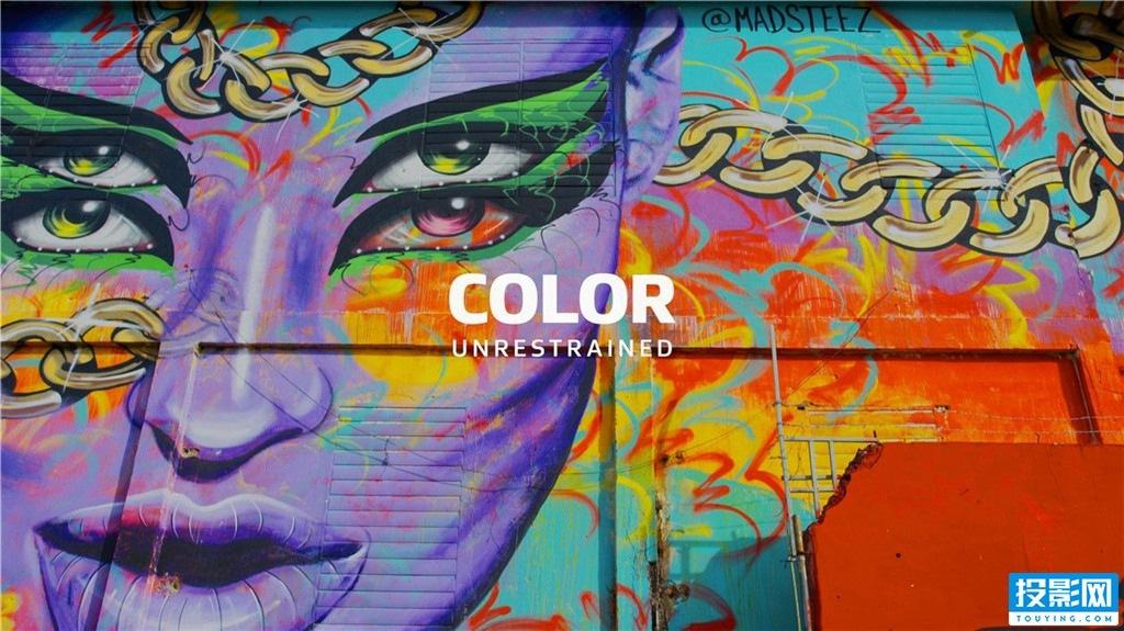 杜比Dolby Vision 5.1声道视频4K演示片  五彩斑斓的色彩![298MB]