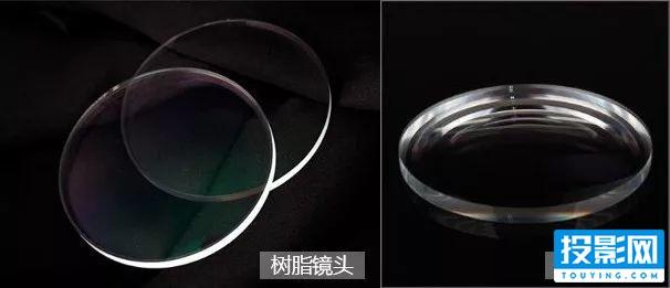 投影仪镜头玻璃好还是树脂镜头好?怎么辨别?