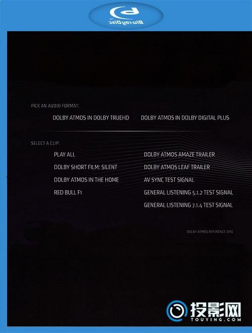 [蓝光原盘1] 杜比全景声演示碟 初始版 (Sep 2014) 蓝光原盘/2....