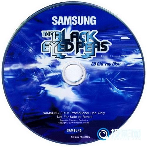 [蓝光原盘20] 三星黑眼豆豆3D蓝光演示碟 蓝光原盘/ 6.85GB