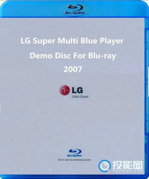 [蓝光原盘28] 2007 LG Super Multi Blue  原盘/ 4.16GB