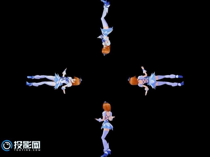 【蓝色初音】初音未来全息资源下载9MB