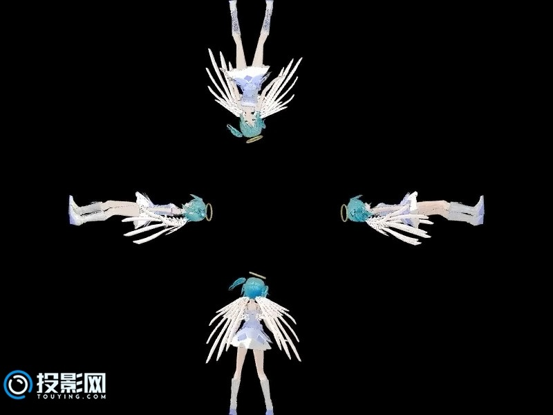 天使面容动感初音全息资源下载【百度云】
