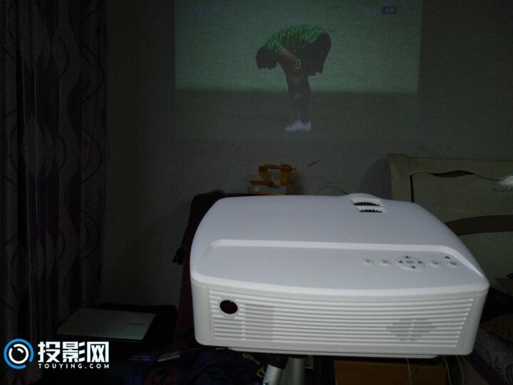 几百元的微投影仪清华美迅投影仪X5评测作业