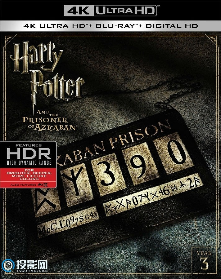 哈利波特1-8合集 Harry Potter 1-8 4KUHD蓝光原盘 Colected[550GB]