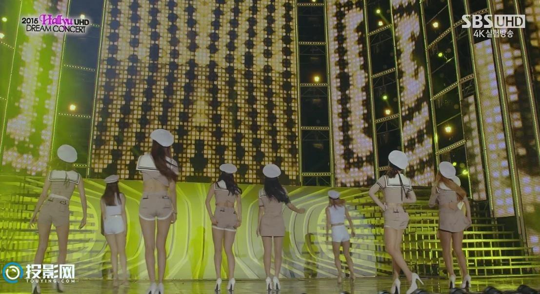 韩国4K SBS UHD频道 MV