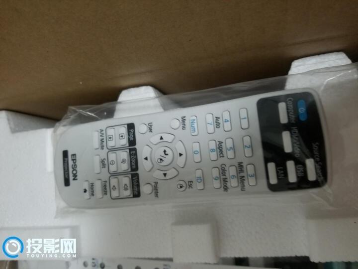 爱普生CH-TW650遥控器功能丰富,各项设置选项逻辑合理