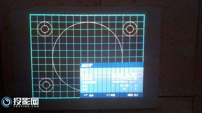 宏基ACER X1110投影机开机有图像 维修案例分享