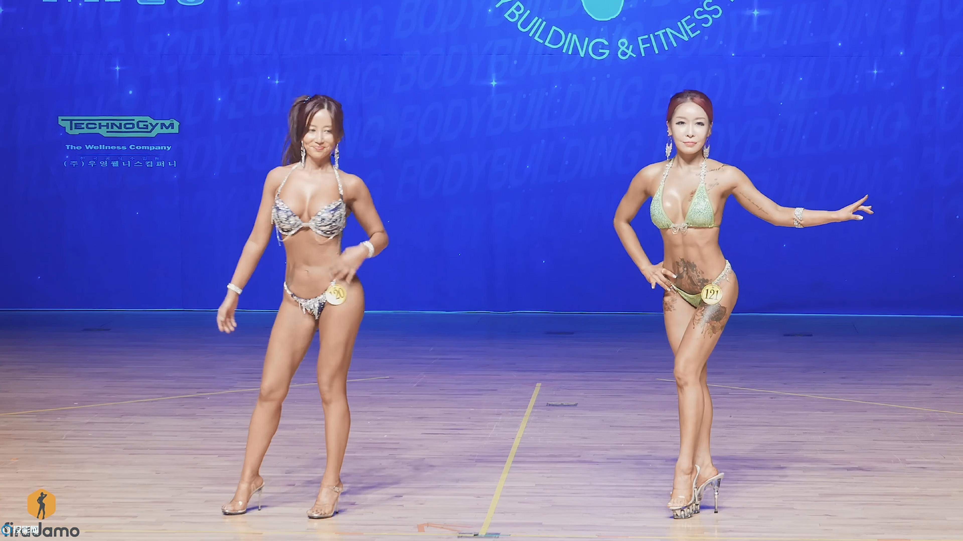 4K超清片-韩国比基尼健美比赛现场实拍13 [2160P/MP4/215MB]
