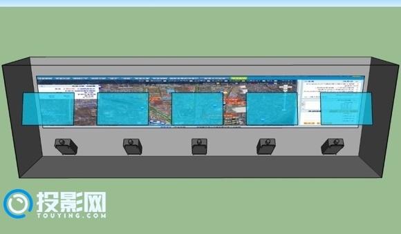 投影机如何实现大数据可视化?