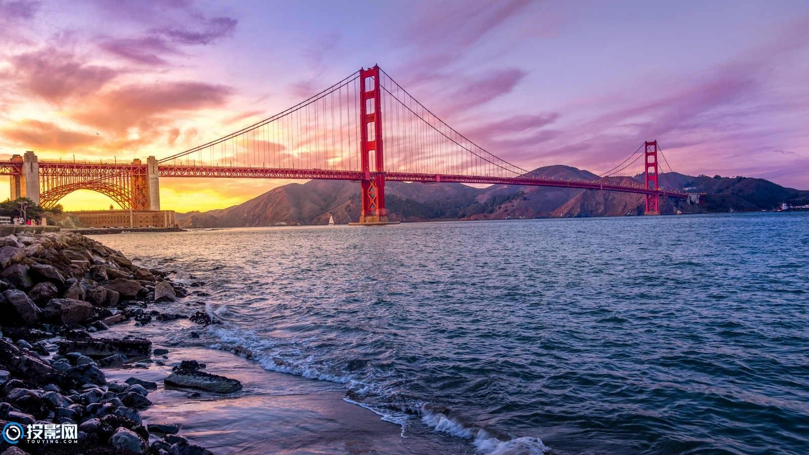 5K 美国金门大桥风光14P [分辨率5120x2880x28.1MB]