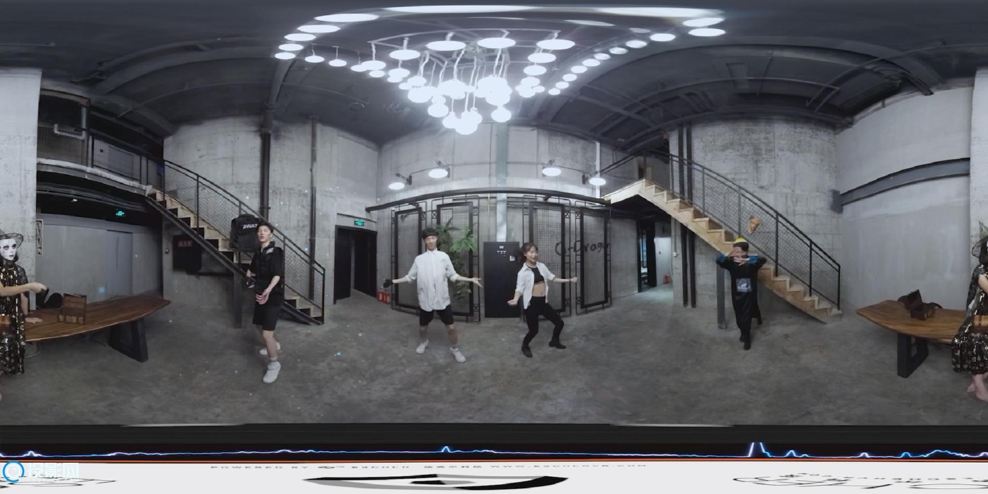 [VR360°全景] V舞社:LOVE ME IF U CAN [1080P/MP4/290MB]