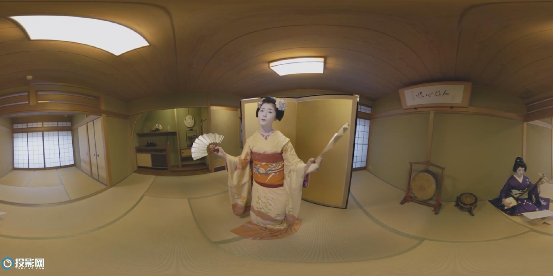 [VR360°全景] 日本创意VR短片《传统遇见未来》 [1080P/MP4/225MB]