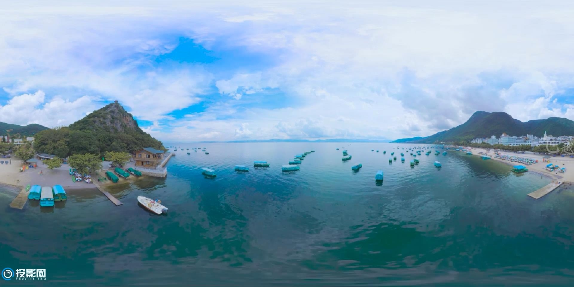 [VR360°全景] 飞越云南:玉溪 · 抚仙湖 [1080P/MP4/123MB]