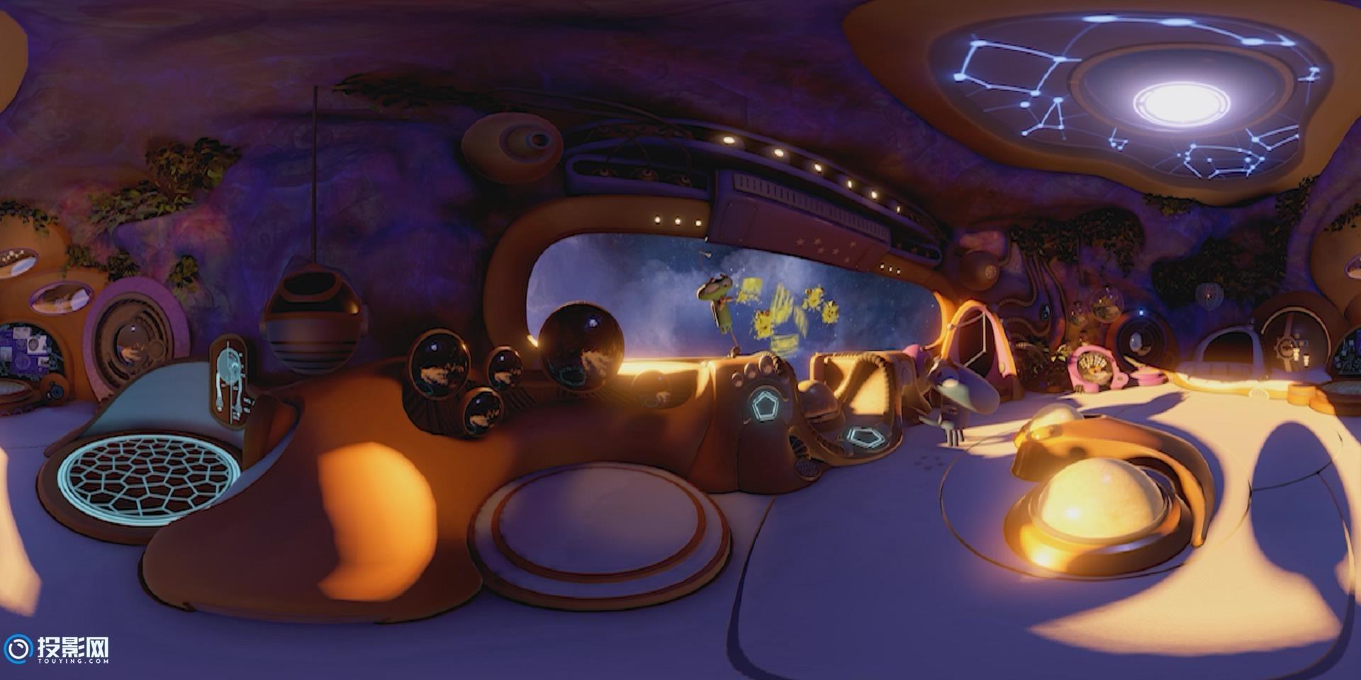 [VR360°全景] 动画短片 《ASTEROIDS!》 全篇 [1080P/MP4/346MB]