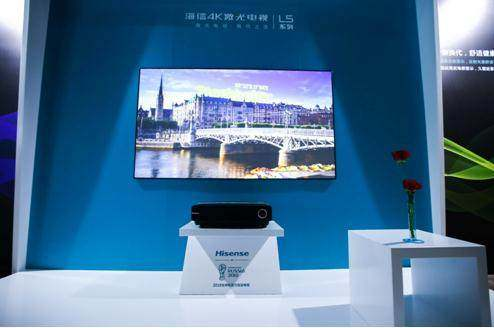 海信在激光电视领域积淀深厚 7月零售额达到90.66%
