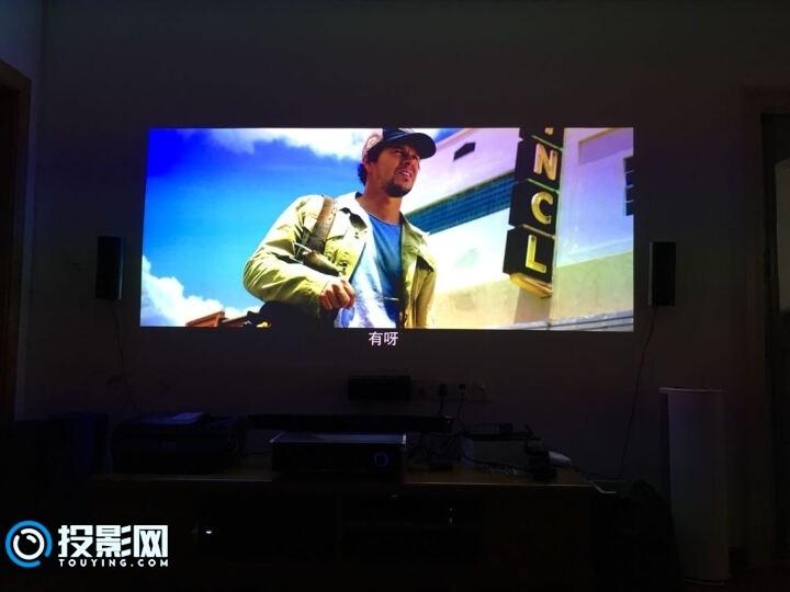 艾洛维VH700激光电视使用感受  房子小的福音