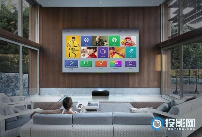 海信激光电视100L6 打造家庭私人影院!