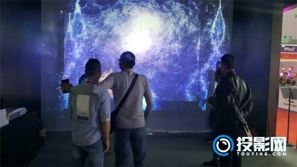 DET激光投影机闪耀2018成都国际音乐(演艺)设施设备博览会
