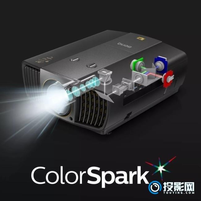明基全新4K投影仪 采用HLD新光源