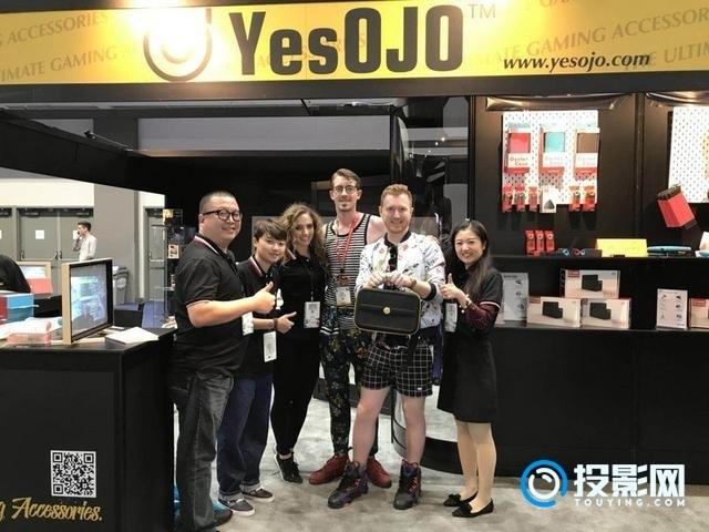 「YesOJO」为Switch设计有游戏机基因的微投设备