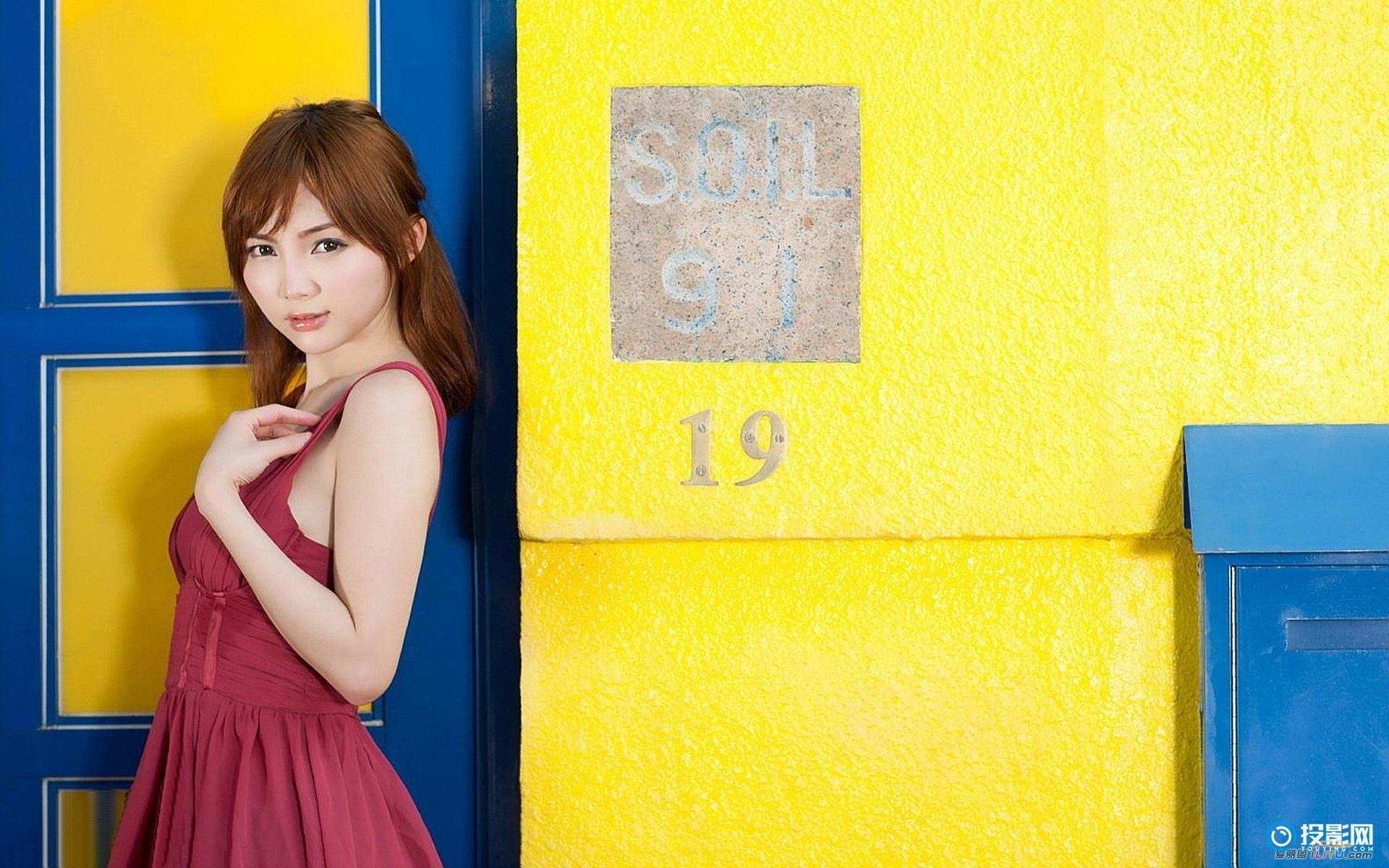 香港嫩模许丽燕壁纸  15P