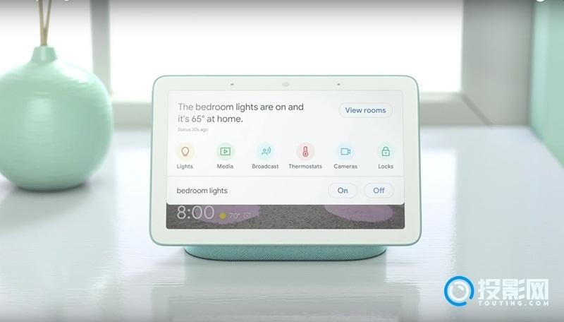 谷歌推出最新Home Hub智能音箱