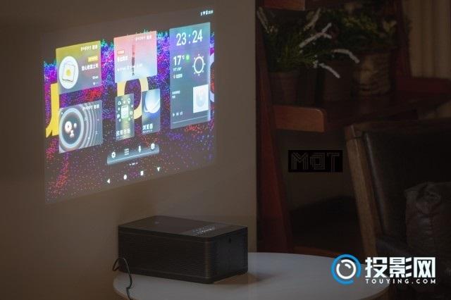 短焦投影+触控感知 puppy cube触控投影体验评测