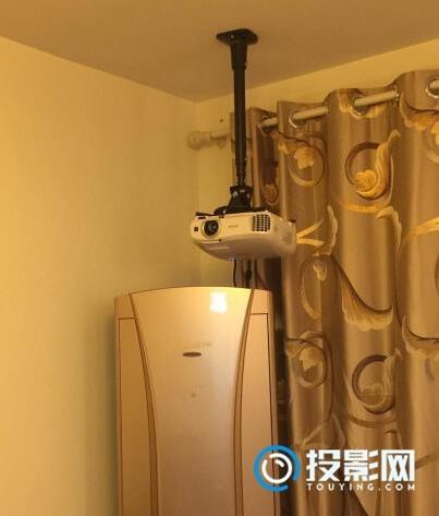 吊装爱普生投影仪CH-TW5300,来投影网交一个上手作业
