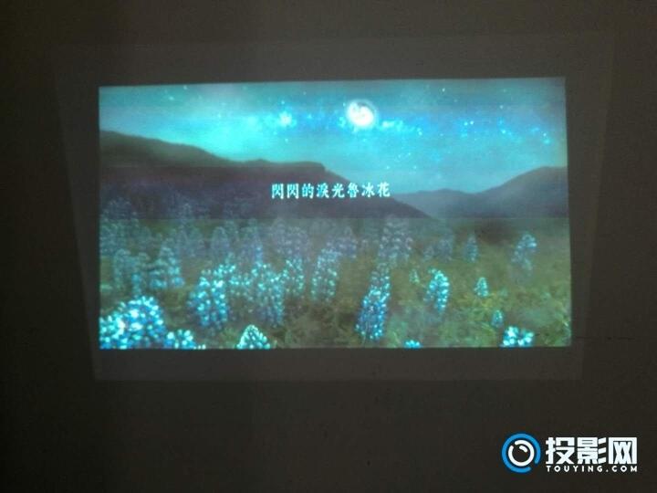神画TT-P投影同屏的传输效果一般,视频不流畅