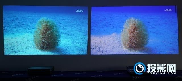 谁能更胜一筹? 长虹D5U和坚果U1 4K激光电视对比评测