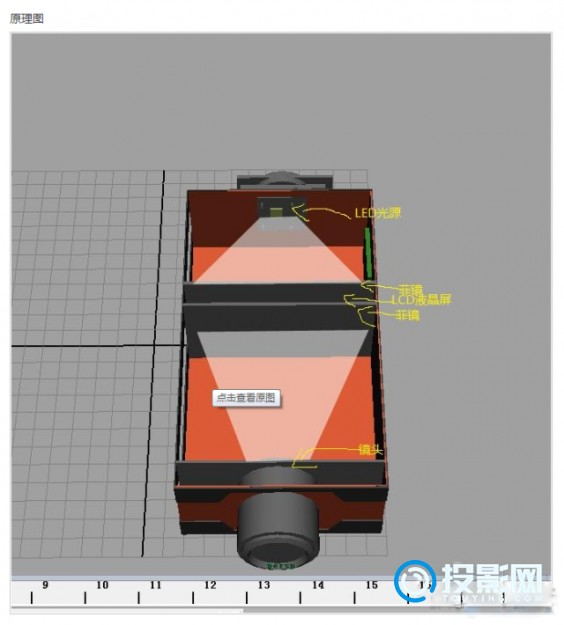 自制DIY高清投影仪全部过程分享,堪比买来的投影仪!