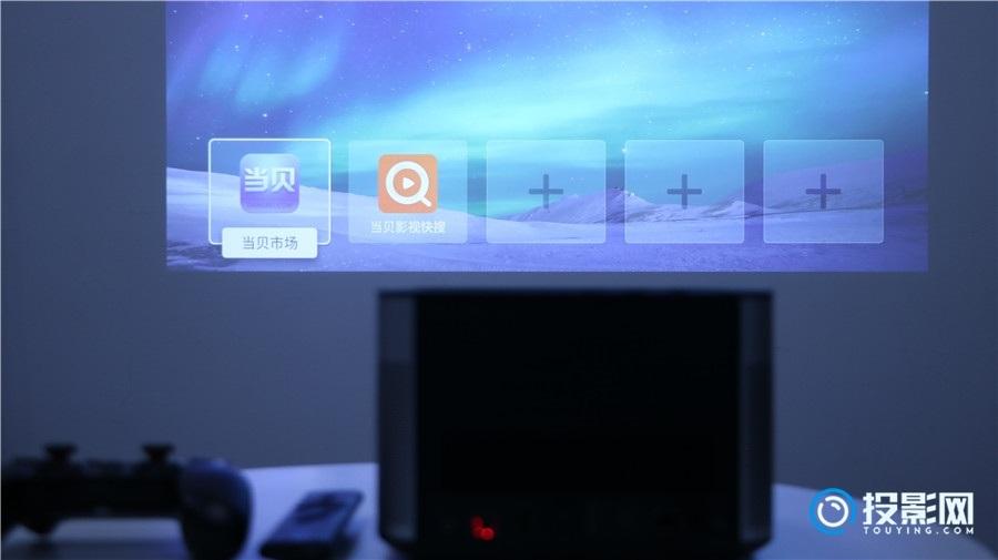 投影仪怎么用手柄玩游戏?200寸的大屏游戏机了解一下