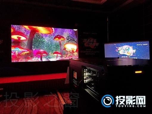 赢康-科视力荐震撼方案,RGB三原色激光新品横空出世