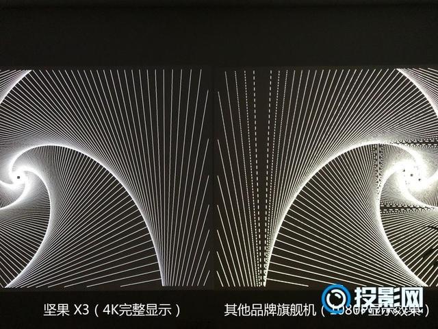 引领微投进入4K时代!坚果X3智能投影评测