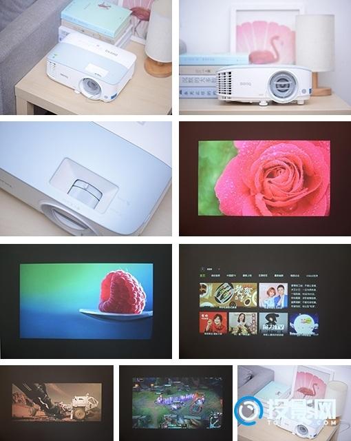 """明基i705投影仪让客厅秒变""""巨幕""""厅"""