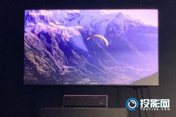 海信携三色激光电视及高端U9E电视登场