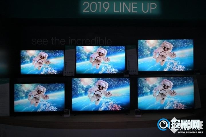 海信亮相CES 2019 自研ULED电视正式面世