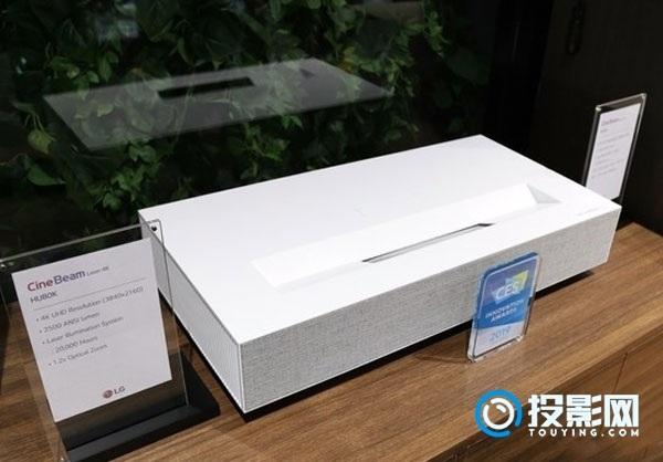 除了8K、可卷曲 LG新一代4K激光电视CES也亮眼