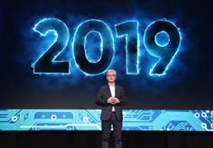 """""""海信在2019年将把整个真实世界带入您的客厅!"""""""